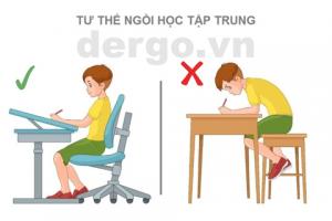 Rèn luyện thói quen ngồi học tập trung cho trẻ